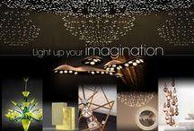 Light Up Your Imagination / Tasteful & Playful Lighting Fixtures