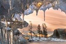 Зима - это настоящее волшебство. / прекрасные уголки природы