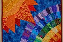 Пэчворк / изящные изделия из разноцветной ткани