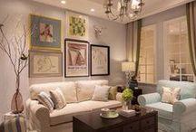 Дизайн гостиной / именно здесь принято отдыхать всей семьей и принимать гостей