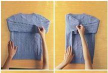 Как аккуратно сложить все виды одежды и белья