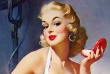 Pinup Icon: Gil Elvgren / Pinup paintings and prints by Gil Elvgren, the master of the genre