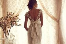 Wedding DRESSES / I love weddings ! They are one of the most beautiful things. From the clothing, flowers,decor & of course the LOVE ...<3 / by Tammy Turner