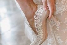 Shoe obsession... / Our love of beautiful wedding day shoes!