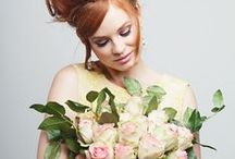 Bouquets and blooms / beautiful wedding day flowers...