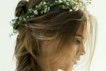 Wedding day hair styles & make up we love.. / It's all about the hair and make up!
