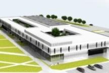 Centrum Technologiczne / Centrum Technologiczne to miejsce przenikania się strefy biznesu oraz nauki.