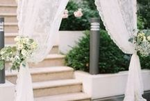 Aisle style / beautifully styled wedding aisles