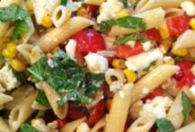 Pasta salads / Need your carbs