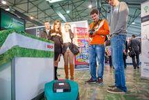 Robotics Expo 2013 / Robotics Expo 2013 – значимое событие в области робототехники в России. Возможности перспективного рынка в этом году представили ведущие отечественные и зарубежные производители, компании, работающие над созданием роботов для персонального использования, роботов для бизнеса, коммерческих роботов, дронов и роботов телеприсутствия.