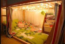 Çocuk odaları için okuma köşesi fikirleri