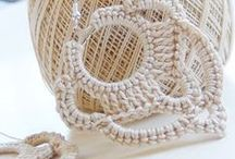 Crochet Earrings Patterns  / Crochet Earrings