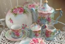Tea Time / Tea pots, cups and saucers... / by Tammy Turner