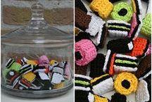 Sweets Crochet / Dolcetti di tutti i tipi all'uncinetto