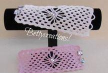Bracciali Uncinetto - Crochet Bracelets / Bracciali fatti all'uncinetto