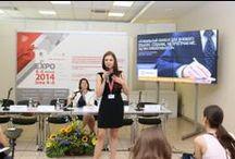 Семинар ExpoMap на 5pEXPO-2014 / 5 июня в ЦВК «Экспоцентр» прошел семинар ExpoMap.ru «Правильный контент для делового события». Выступления успешных практиков о продвижении деловых мероприятий представили самые эффективные инструменты для Организаторов. http://expomap.ru/seminar