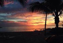 Rum Point Grand Cayman Sunsets / Beautiful island sunsets at our vacation rental in Rum Point Grand Cayman. Caribbean dream vacation  www.rumpointretreat23.com