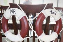 Tengerész esküvő inspirációk