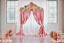 Cirkuszos esküvő inspirációk