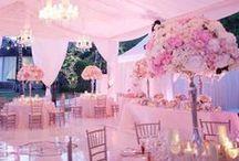 Rózsaszín esküvő inspirációk
