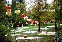 Piknik esküvő inspiráció