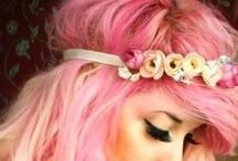 Hair Ideas / Hair inspirations and dye creations!  www.WhippedGreenGirl.com