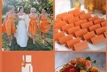 Narancssárga esküvő inspirációk
