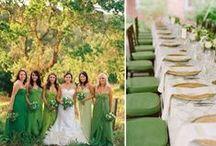 Zöld esküvő inspirációk