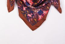 2014-2015 Scarves Collection By Jean Michel / Modern art to style your day