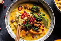 Asiatisch  / Fernköstliches von Nasi Goreng, über Soba bis Tofu.
