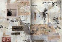 notebooks, art journals, sketchbooks