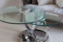 Modern Glass / The iconic Greenapple range of glass home furnishings brings unique style and personality to the home.