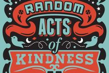 Pay It Forward - Spreading Happiness / Ideas on easy ways to make someones day...