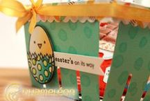 Chameleon Pens, Easter Inspired Projects / Great Easter Card and Easter Craft Projects Done with Chameleon Pens