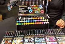Chameleon Products and Trade Shows / A great collection of Images and videos of New Product launches From Chameleon Pens and our Journey's around the world at all the great Art and Craft Trade shows where we show our Innovative Alcohol Marker Pen System !