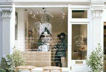Coffee-Shops / Einrichtungsideen für gemütliche Kaffeehäuser der besonderen Art.