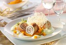 Festlicher Geflügelgenuss / Köstliche Geflügelideen für das festliche Menü zum Verwöhnen von Familie und Gästen.