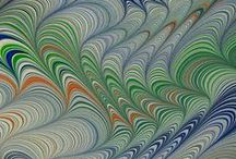 Marbled Papers / and some paste papers / by Susan Pogany