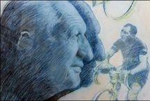 """Gino Bartali / Ho scattato queste foto al museo del ciclismo """"Gino Bartali"""" - indimenticabile campione e """"Giusto tra le Nazioni"""" - durante una visita guidata con l'Associazione Amici del Museo Gino Bartali: un'esperienza piacevole e interessante sia per la disponibilità e la competenza dei """"Ciceroni"""" e sia per la bellezza, l'originalità e la quantità dei materiali in mostra."""