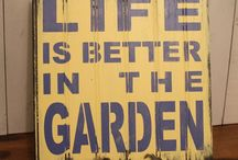 Gardening / Tuinieren