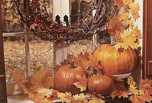 Fall decorating / by R Susan Williams