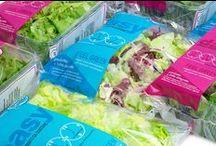 EASY 24h - salad packaging / Il giusto formato da gustare: la linea EASY 24h è composta da #ricette miste e #monovarietà di #insalate adulte nel formato da 200g, adatto ad essere consumato in due o tre volte e quindi in un breve periodo.  The right size to enjoy: the EASY 24h line includes #mixed and #single-variety recipes of fully-grown #salads in 200g packs, to be consumed in the space of a few days.