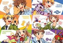 """digimon / Digimon (デジモン Dejimon, branded as Digimon: Digital Monsters, stylized as DIGIMON), short for """"Digital Monsters"""" (デジタルモンスター Dejitaru Monsutā), is a Japanese media franchise encompassing virtual pet toys, anime, manga, video games, films and a trading card game. The franchise focuses on Digimon creatures, which are monsters living in a """"Digital World"""", a parallel universe that originated from Earth's various communication networks. In many incarnations,"""