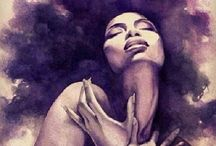Ebony Goddesses / the divine beauty you find in ebony