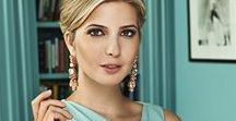 Ivanka Trump: Designer Spotlight / Brands we love-inspiration from our favorite designers journey and their collections.  This board is dedicated to Ivanka Trump.