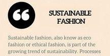 Sustainable Shopping Ideas / Sustainable Shopping Inspiration