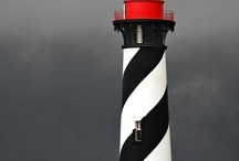 Lighthouses & Windmills / LIGHTHOUSE, n. A tall building on the seashore in which the government maintains a lamp and the friend of a politician. Ambrose Bierce (1842 - 1914), The Devil's Dictionary / by Maryann