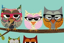 Birds and owls  / by Susan Rogers