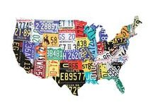 The Nifty Fifty in Posters / All 50 states are included. / by Maryann