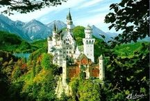 Castles / What queen doesn't love her castle?  Fairytales and castle go together! / by Donna Hill